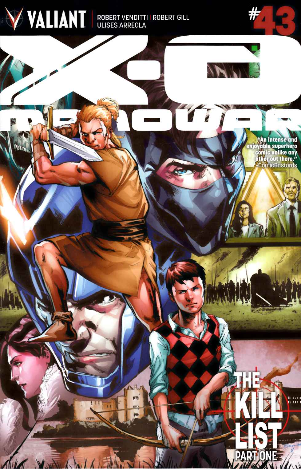 X-O Manowar #43 Cover A- Jimenez [Valiant Comic] THUMBNAIL