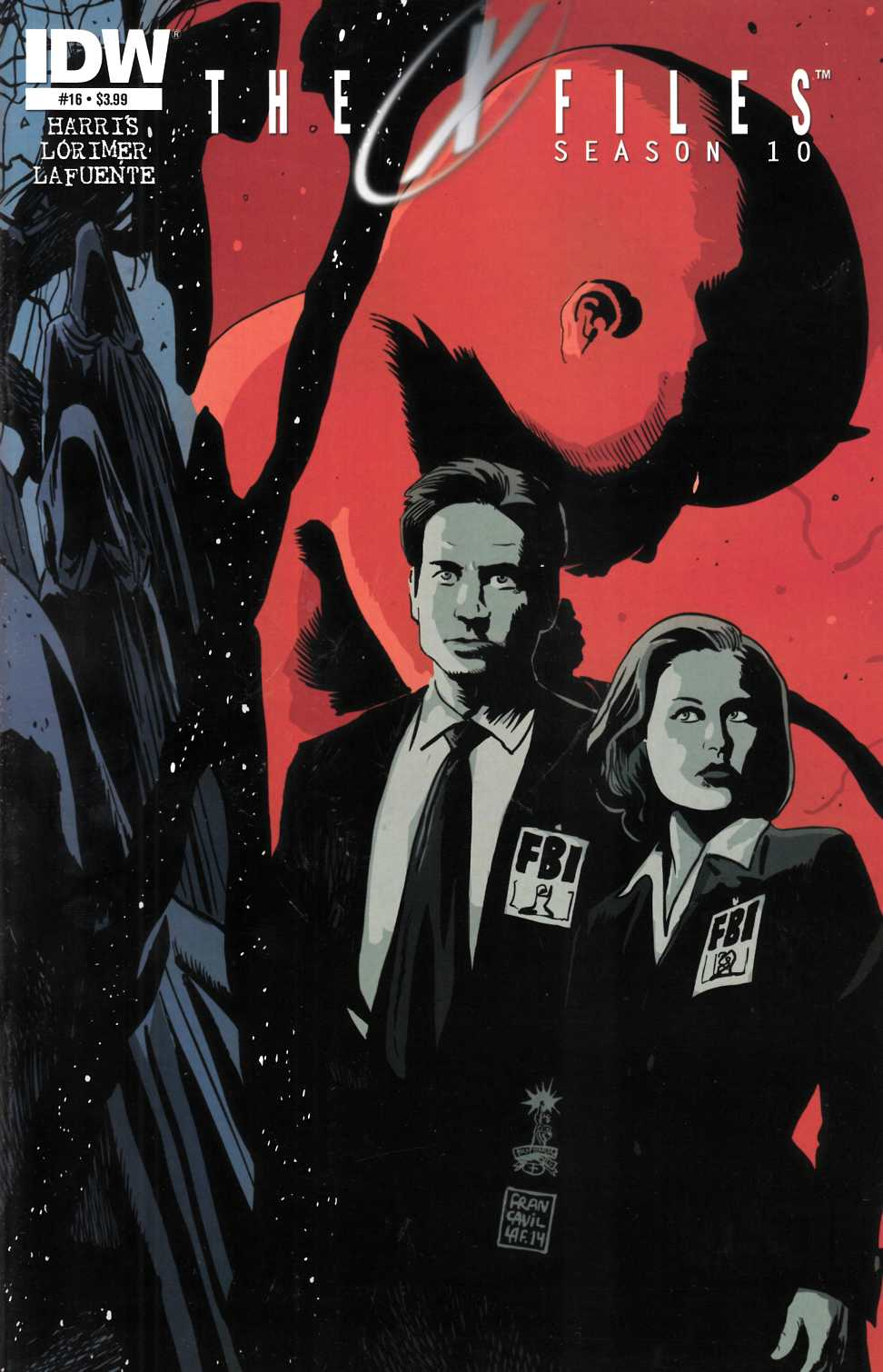 X-Files Season 10 #16 [Comic] LARGE