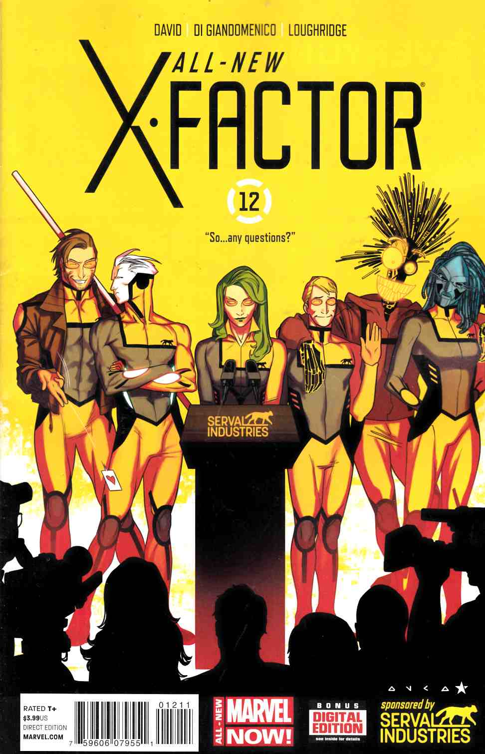 All New X-Factor #12 Near Mint (9.4) [Marvel Comic] LARGE