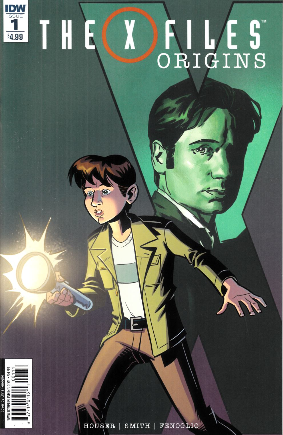 X-Files Origins #1 [IDW Comic] THUMBNAIL