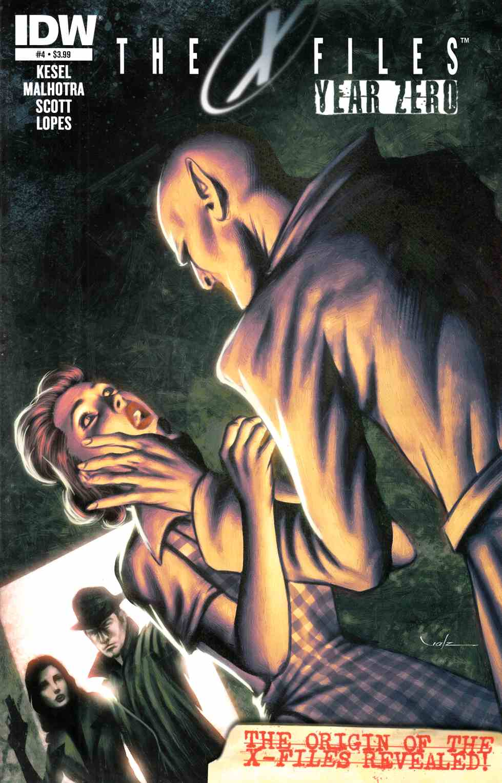 X-Files Year Zero #4 [Comic] THUMBNAIL