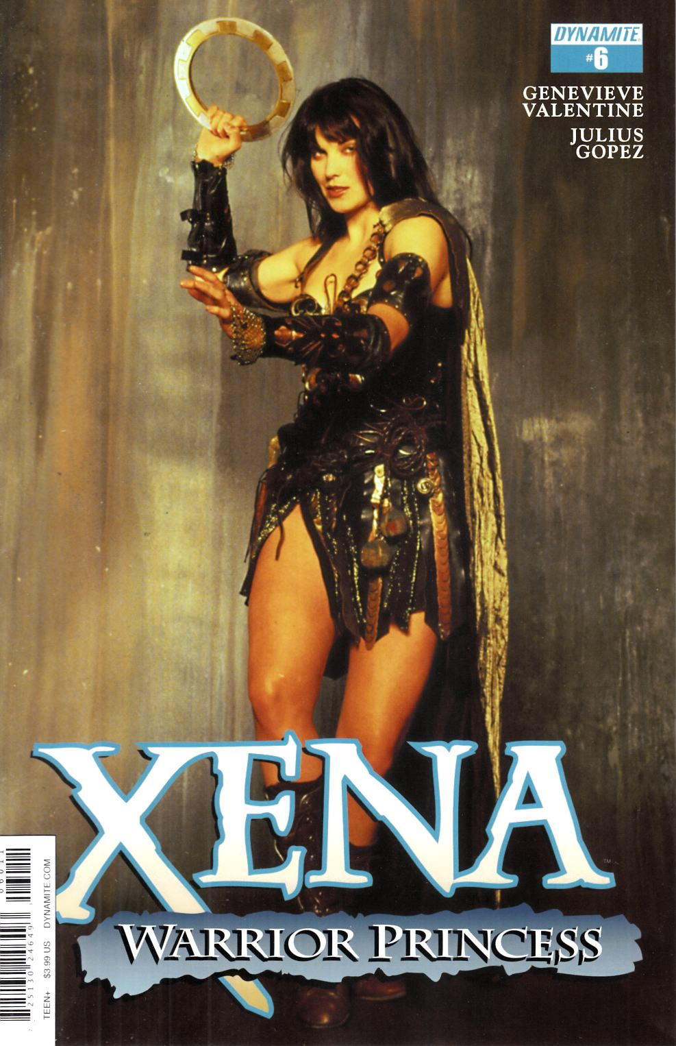 Xena Warrior Princess #6 Cover A [Dynamite Comic] THUMBNAIL