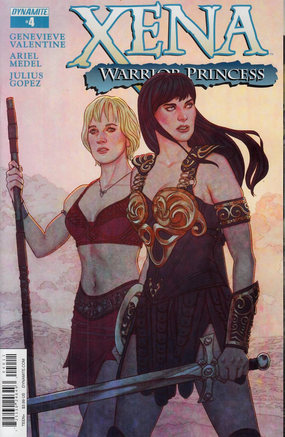Xena Warrior Princess #4 [Dynamite Comic] LARGE