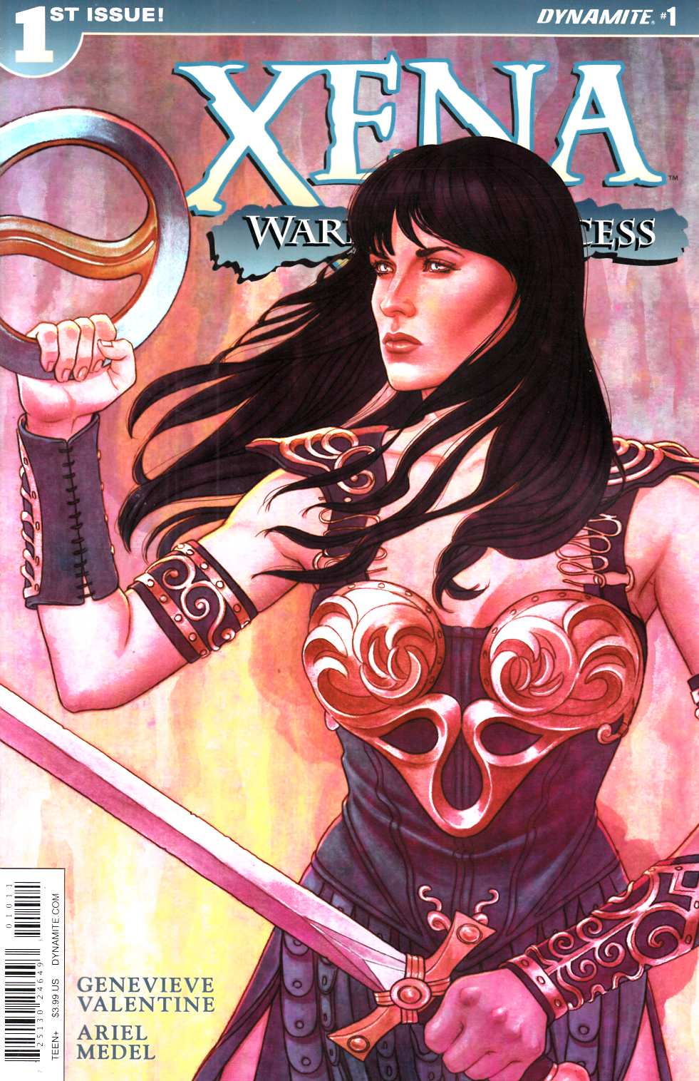 Xena Warrior Princess #1 Frison Cover [Dynamite Comic]_THUMBNAIL