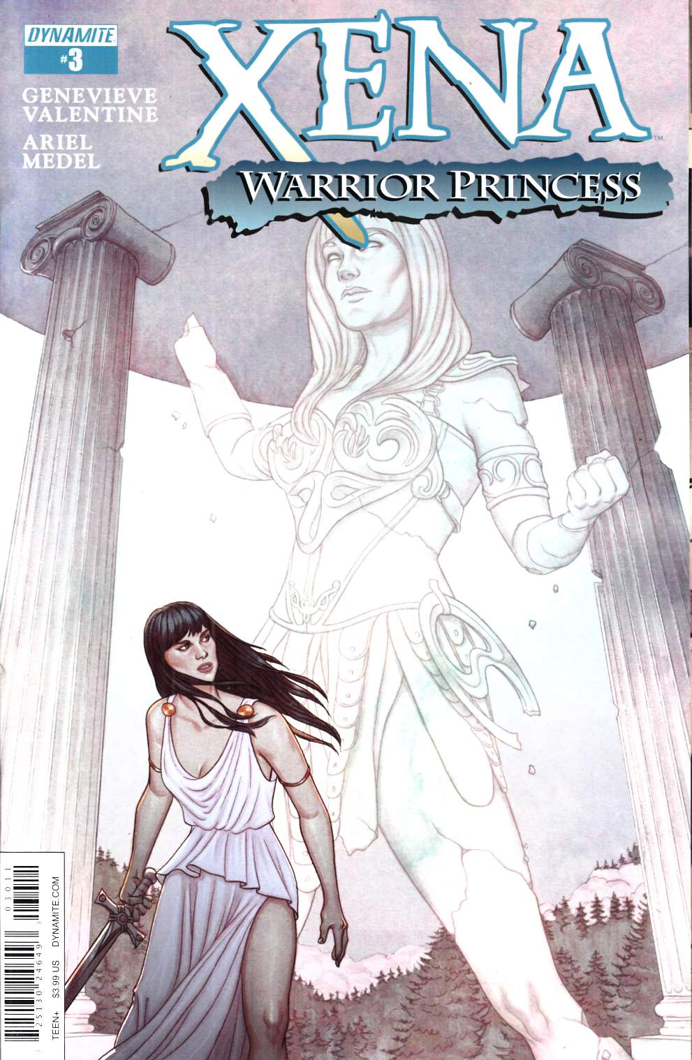 Xena Warrior Princess #3 [Dynamite Comic]