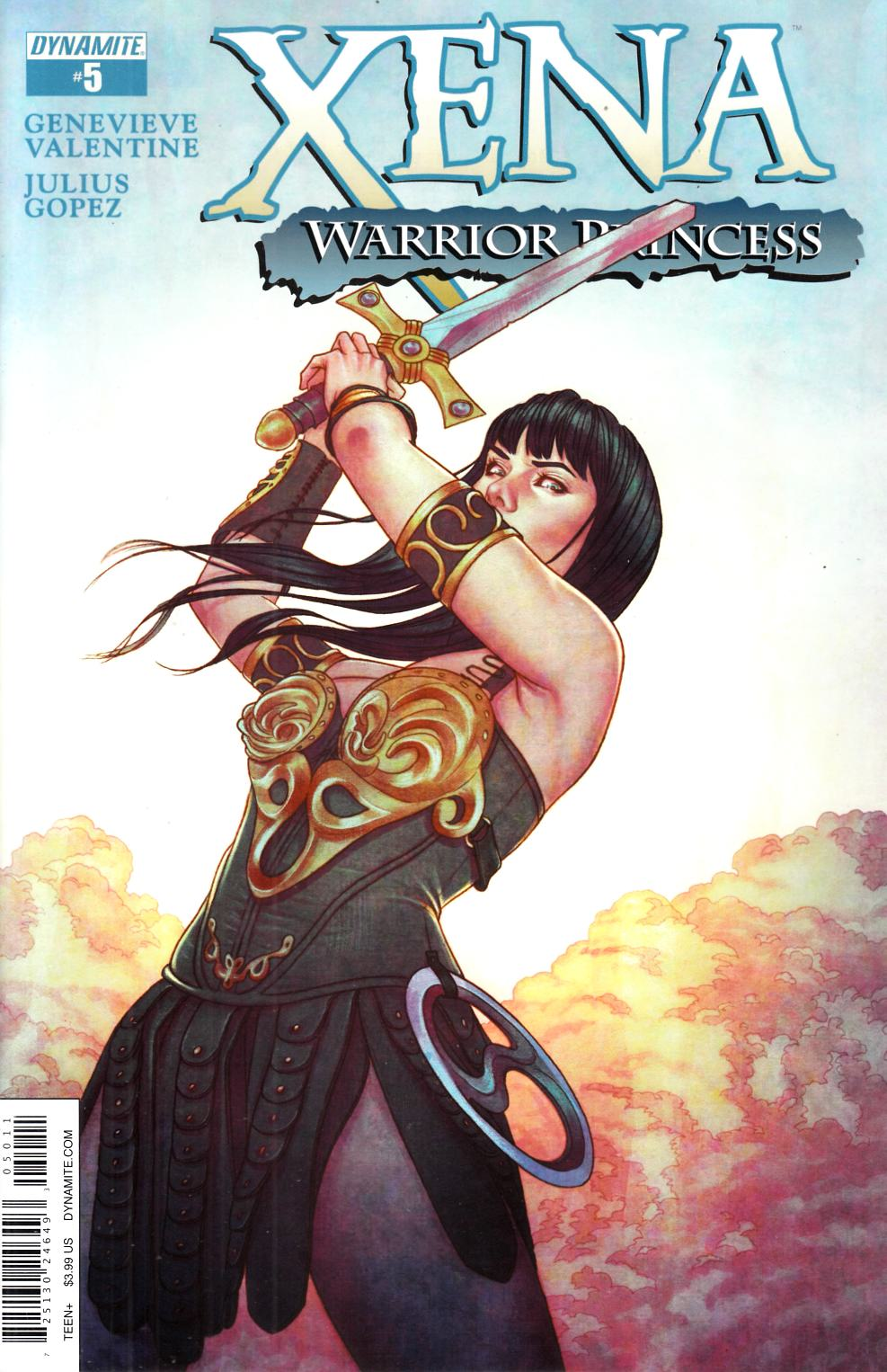 Xena Warrior Princess #5 [Dynamite Comic]