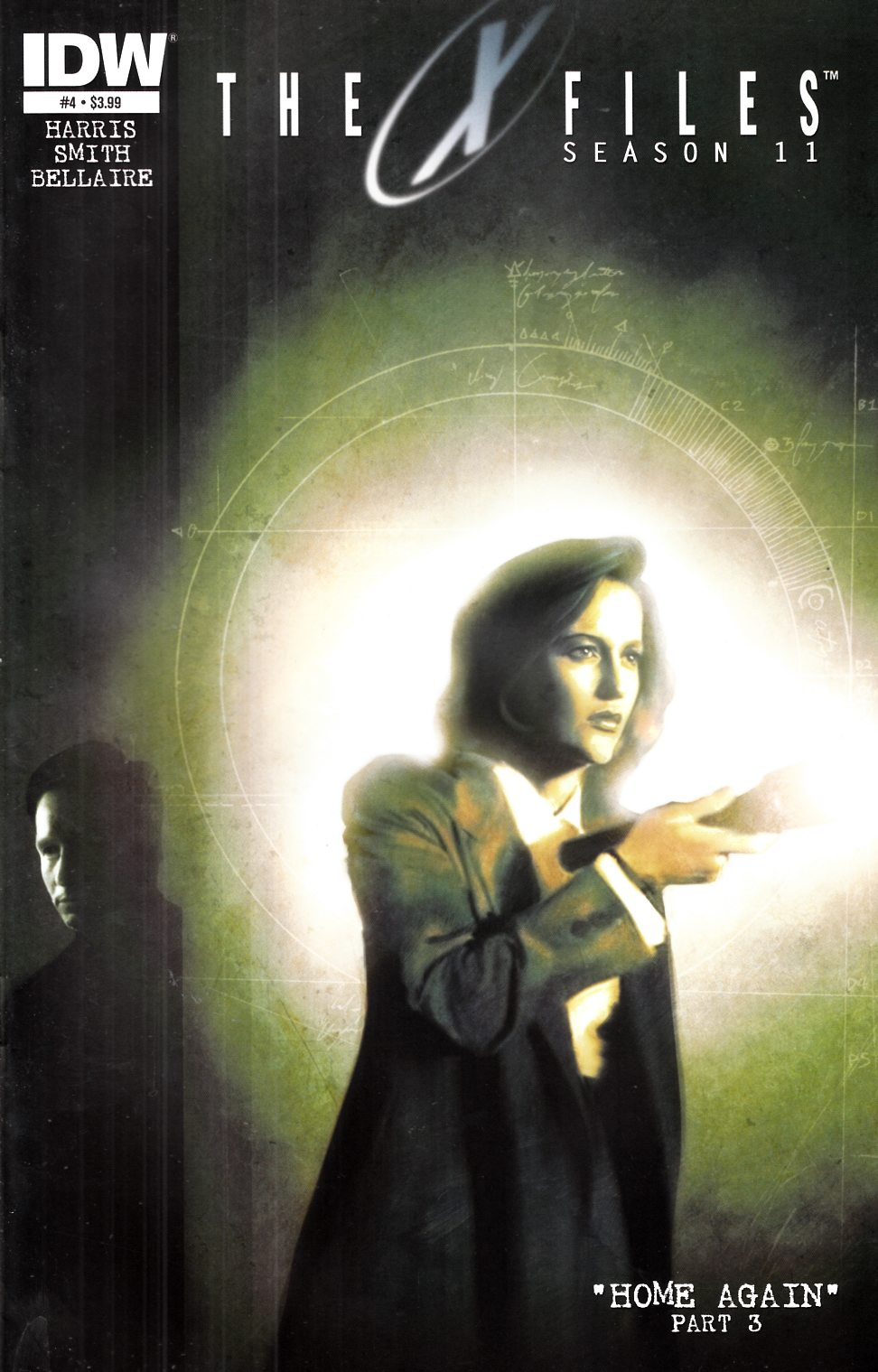 X-Files Season 11 #4 [IDW Comic] THUMBNAIL