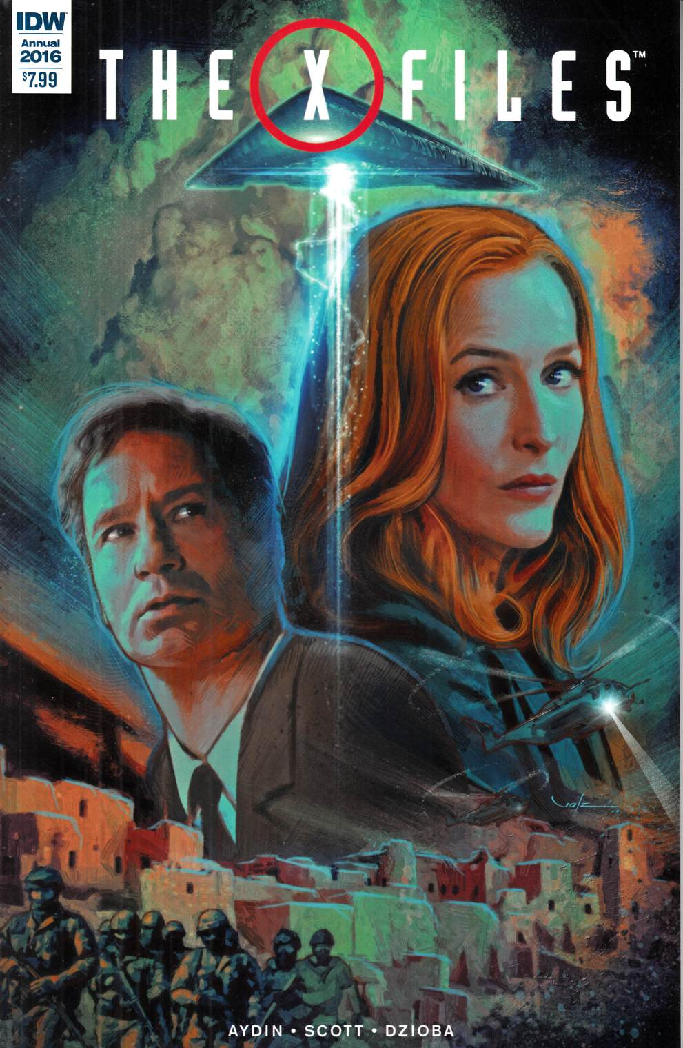 X-Files Annual 2016 #1 [IDW Comic] LARGE