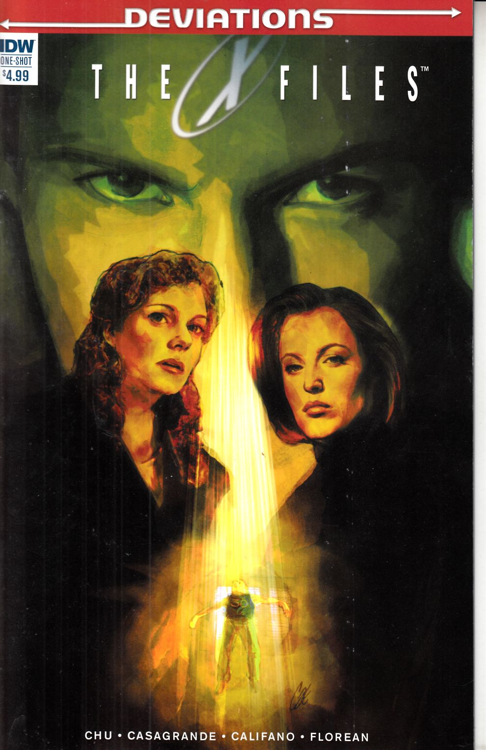 X-Files Deviations (One Shot) [IDW Comic] THUMBNAIL