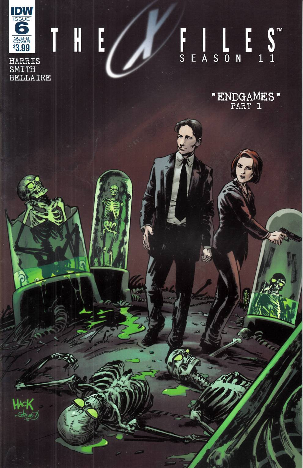 X-Files Season 11 #6 Subscription Cover B [IDW Comic]