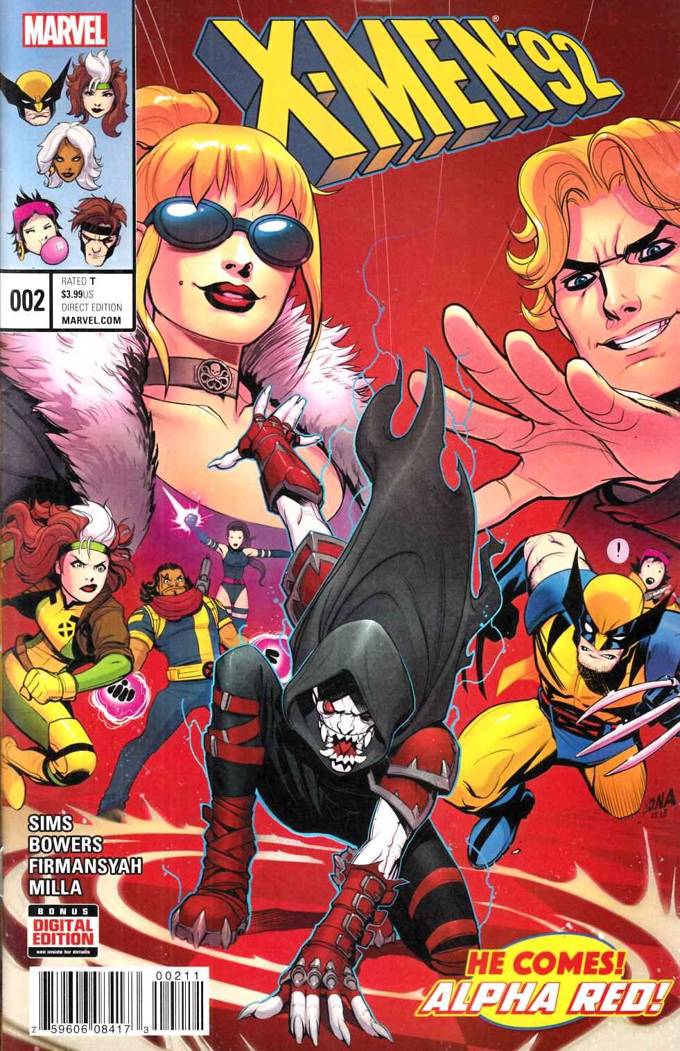 X Men 2 Comic X-Men 92 #2 [Marvel Co...