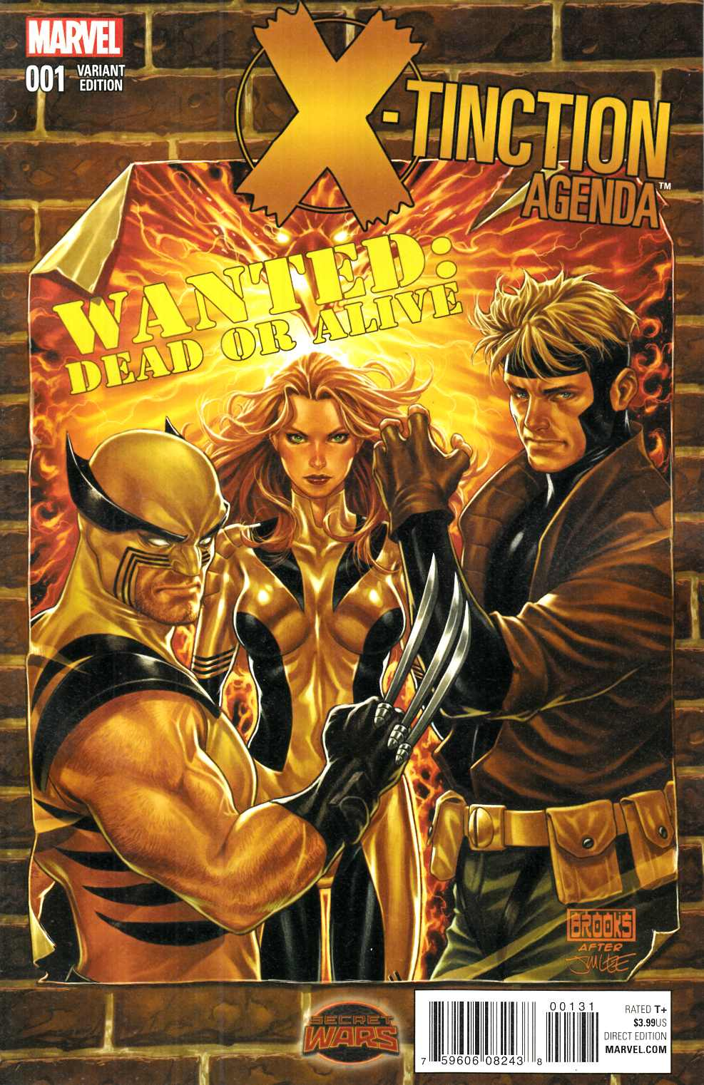 X-Tinction Agenda #1 Wanted Variant Cover [Marvel Comic]_THUMBNAIL