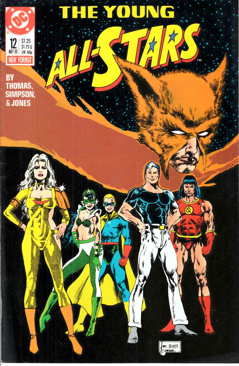 Young All Stars #12 Very Fine (8.0) [DC Comic] THUMBNAIL