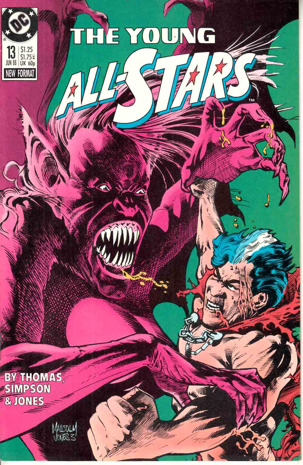 Young All Stars #13 Very Fine (8.0) [DC Comic] LARGE