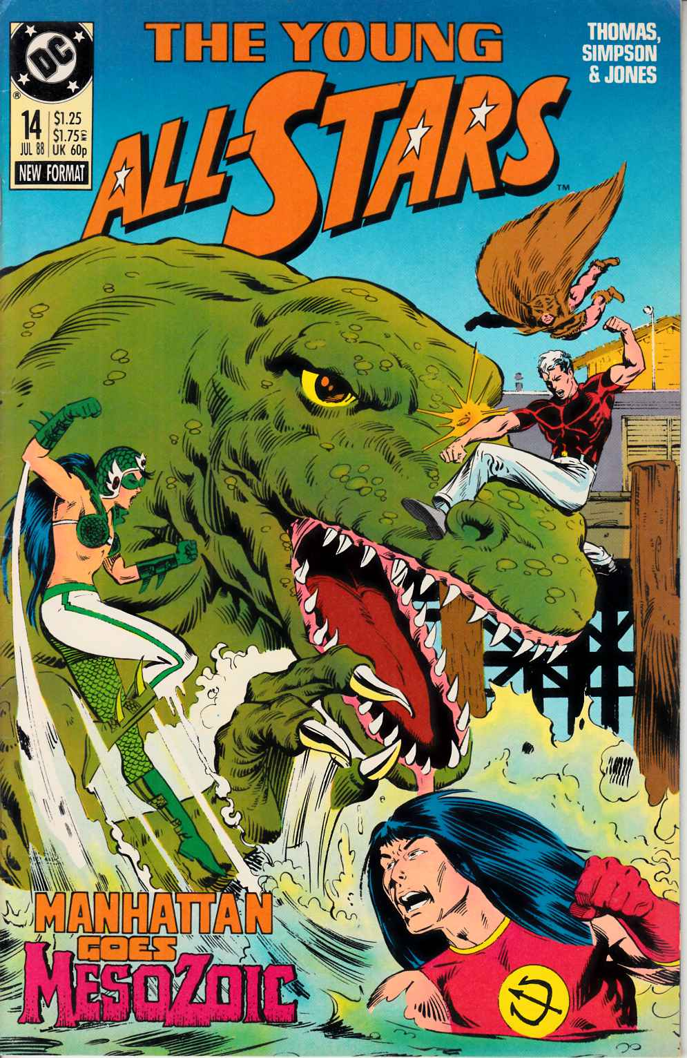 Young All Stars #14 Very Fine (8.0) [DC Comic] THUMBNAIL