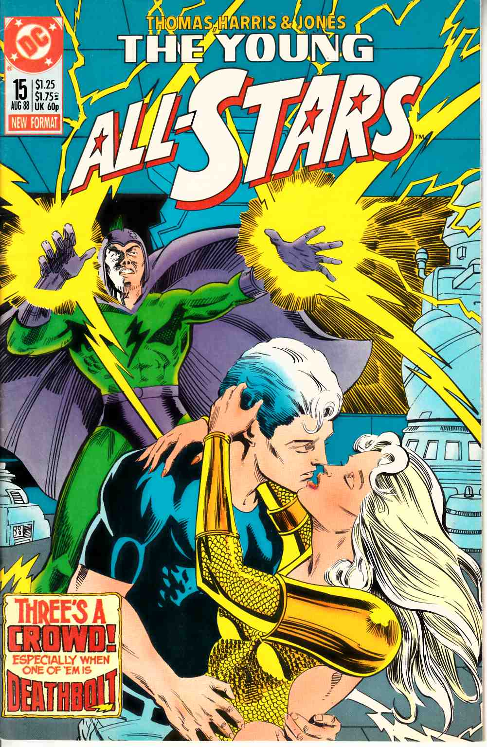 Young All Stars #15 Very Fine (8.0) [DC Comic] LARGE