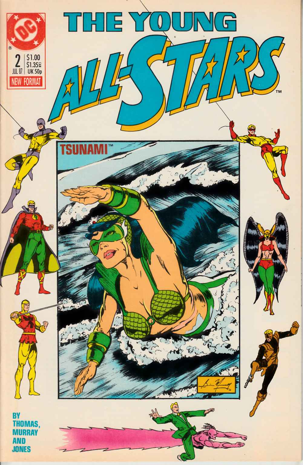 Young All Stars #2 Near Mint (9.4) [DC Comic] LARGE
