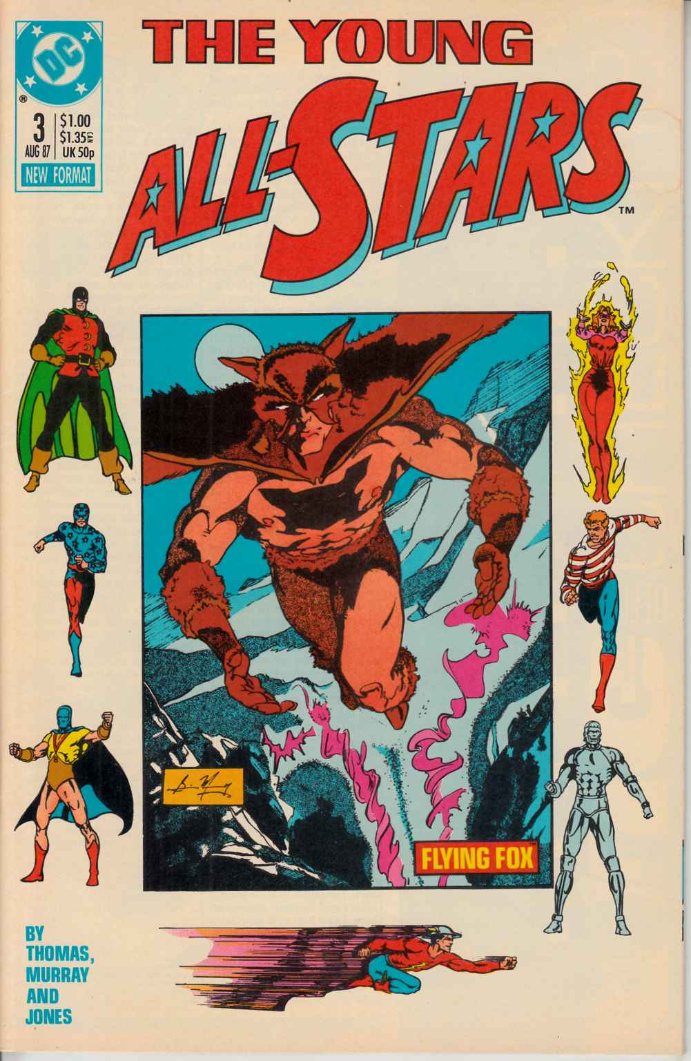 Young All Stars #3 Fine (6.0) [DC Comic] THUMBNAIL