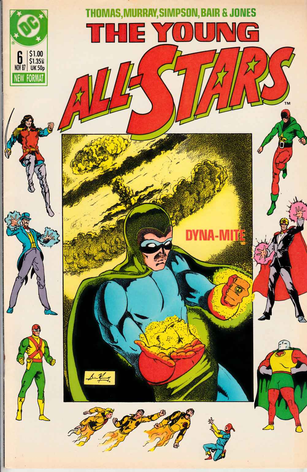 Young All Stars #6 Near Mint (9.4) [DC Comic] LARGE