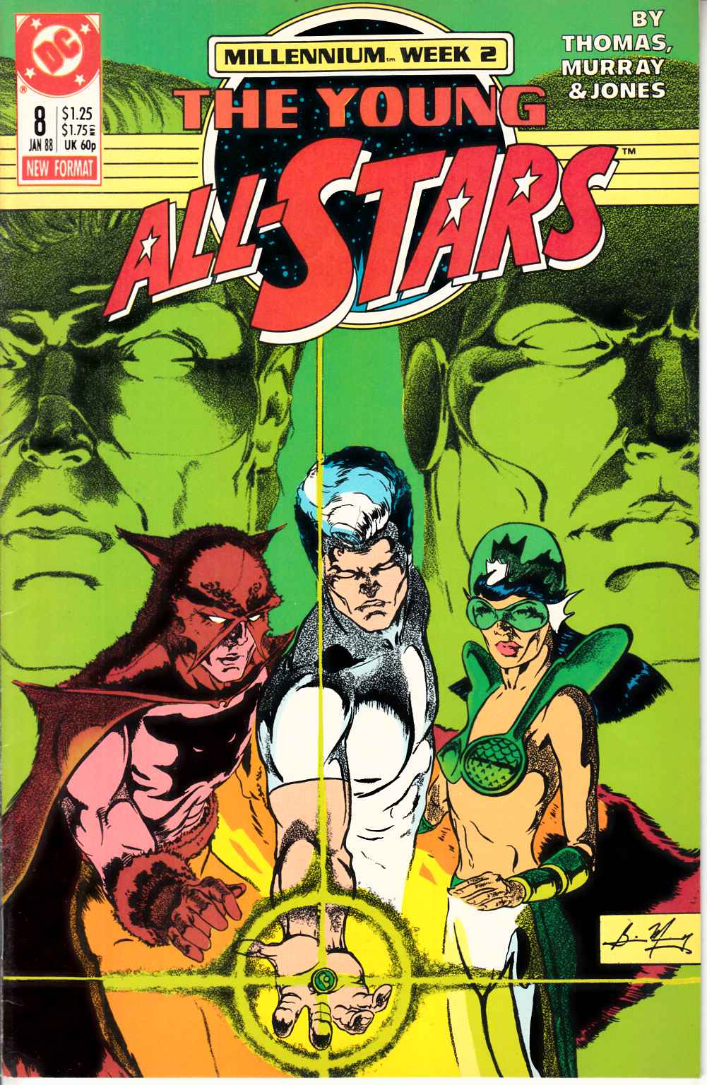 Young All Stars #8 Very Fine (8.0) [DC Comic] LARGE