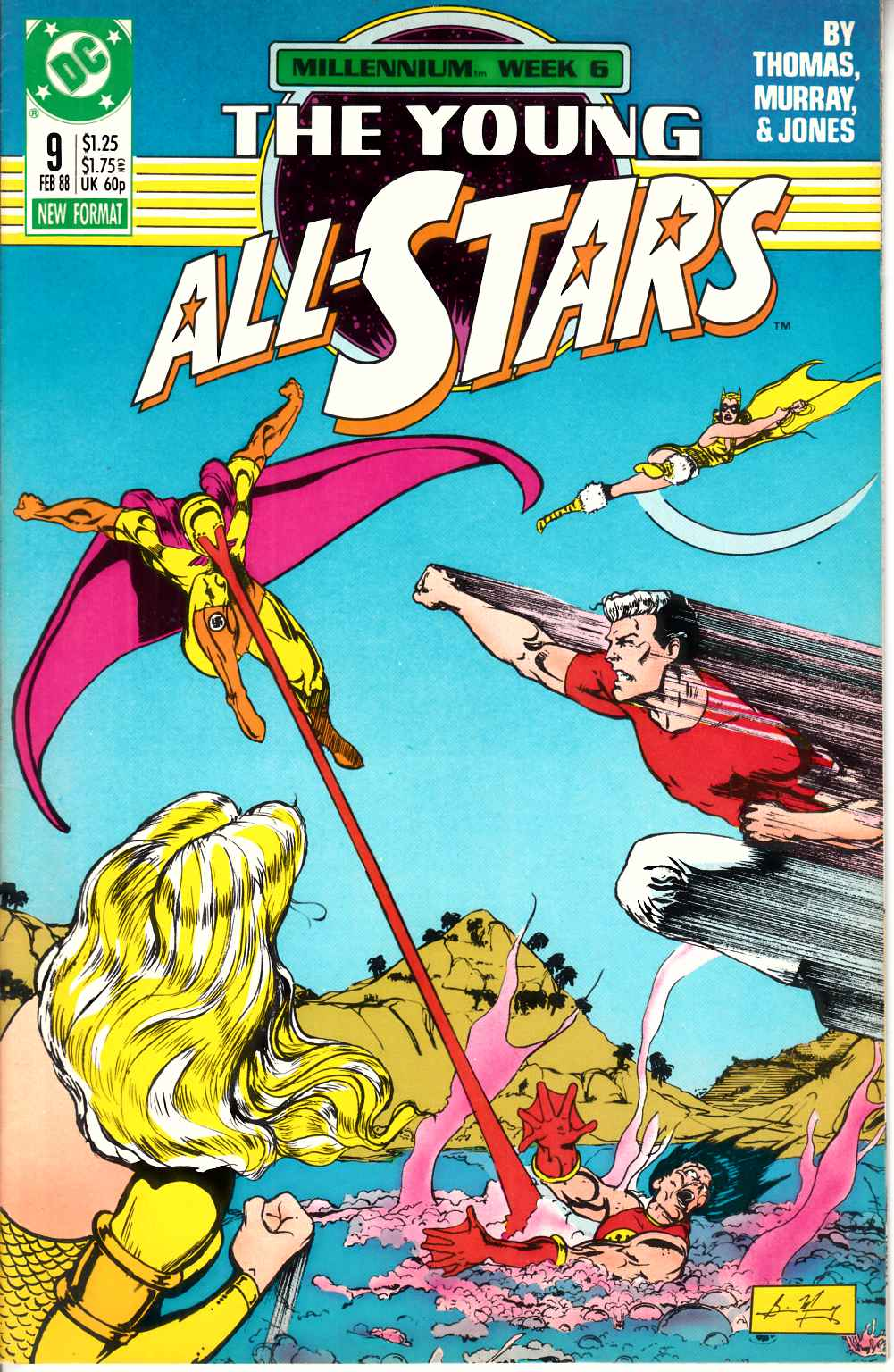 Young All Stars #9 Very Fine Minus (7.5) [DC Comic] THUMBNAIL