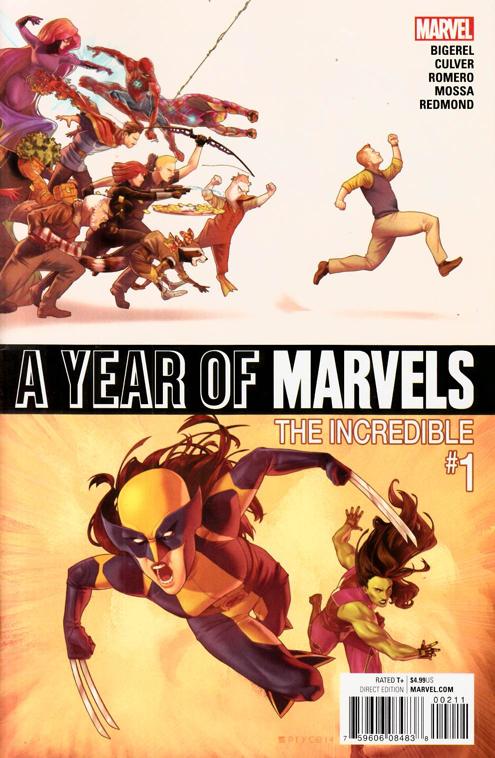Year of Marvels Incredible #1 [Marvel Comic] THUMBNAIL