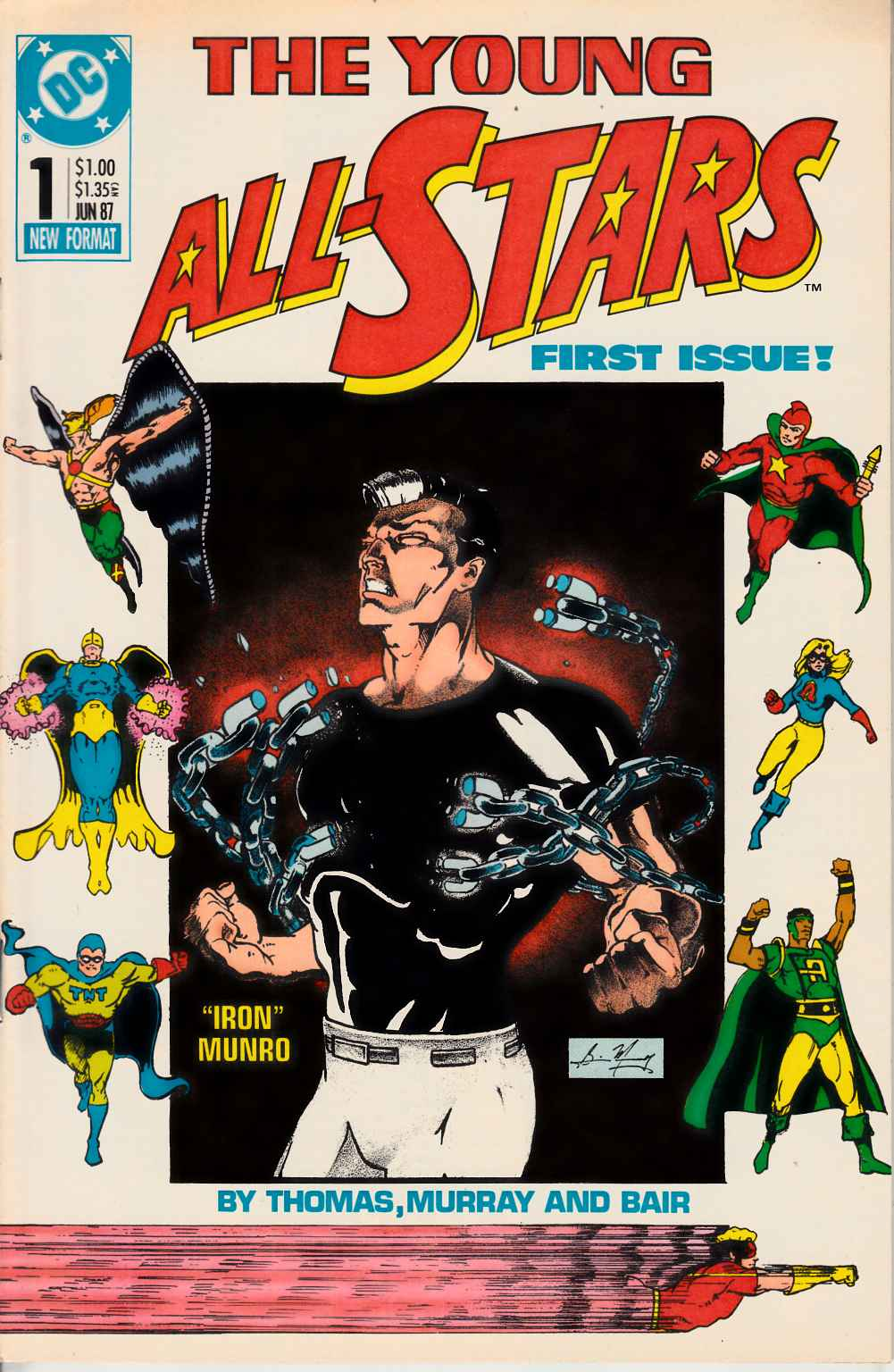 Young All Stars #1 Very Fine (8.0) [DC Comic] THUMBNAIL