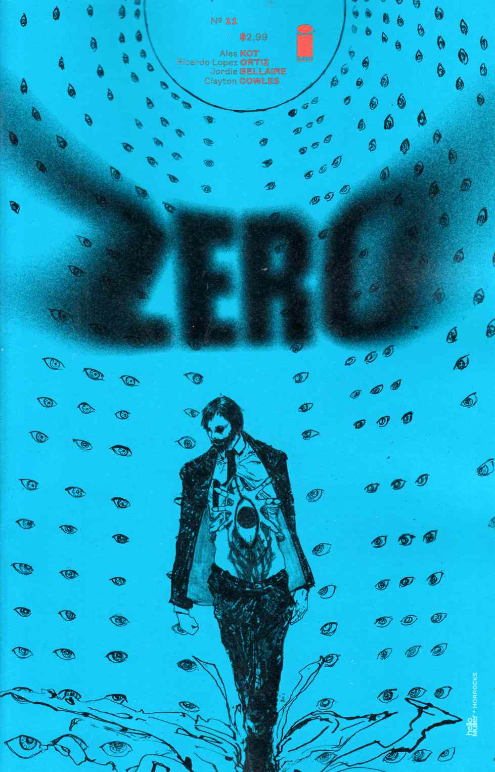 Zero #11 Cover B- Horrocks & Muller [Comic]_THUMBNAIL