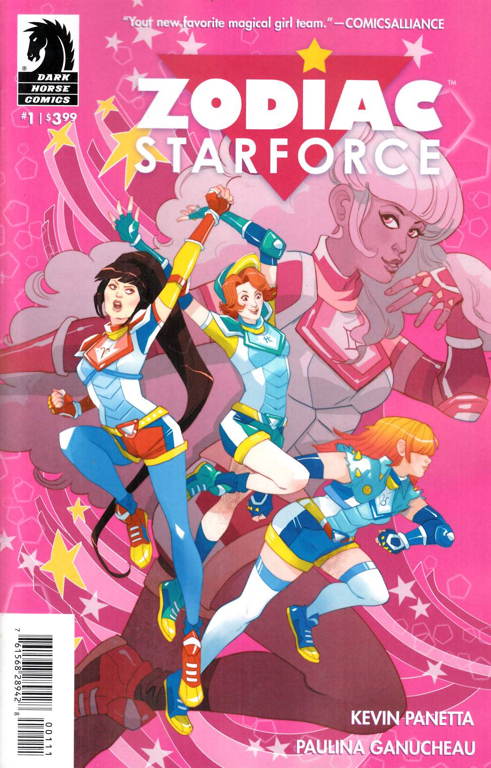Zodiac Starforce #1 [Dark Horse Comic] THUMBNAIL