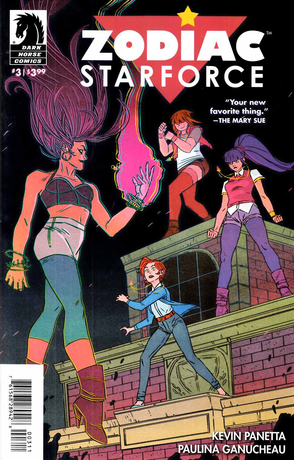 Zodiac Starforce #3 [Dark Horse Comic] THUMBNAIL