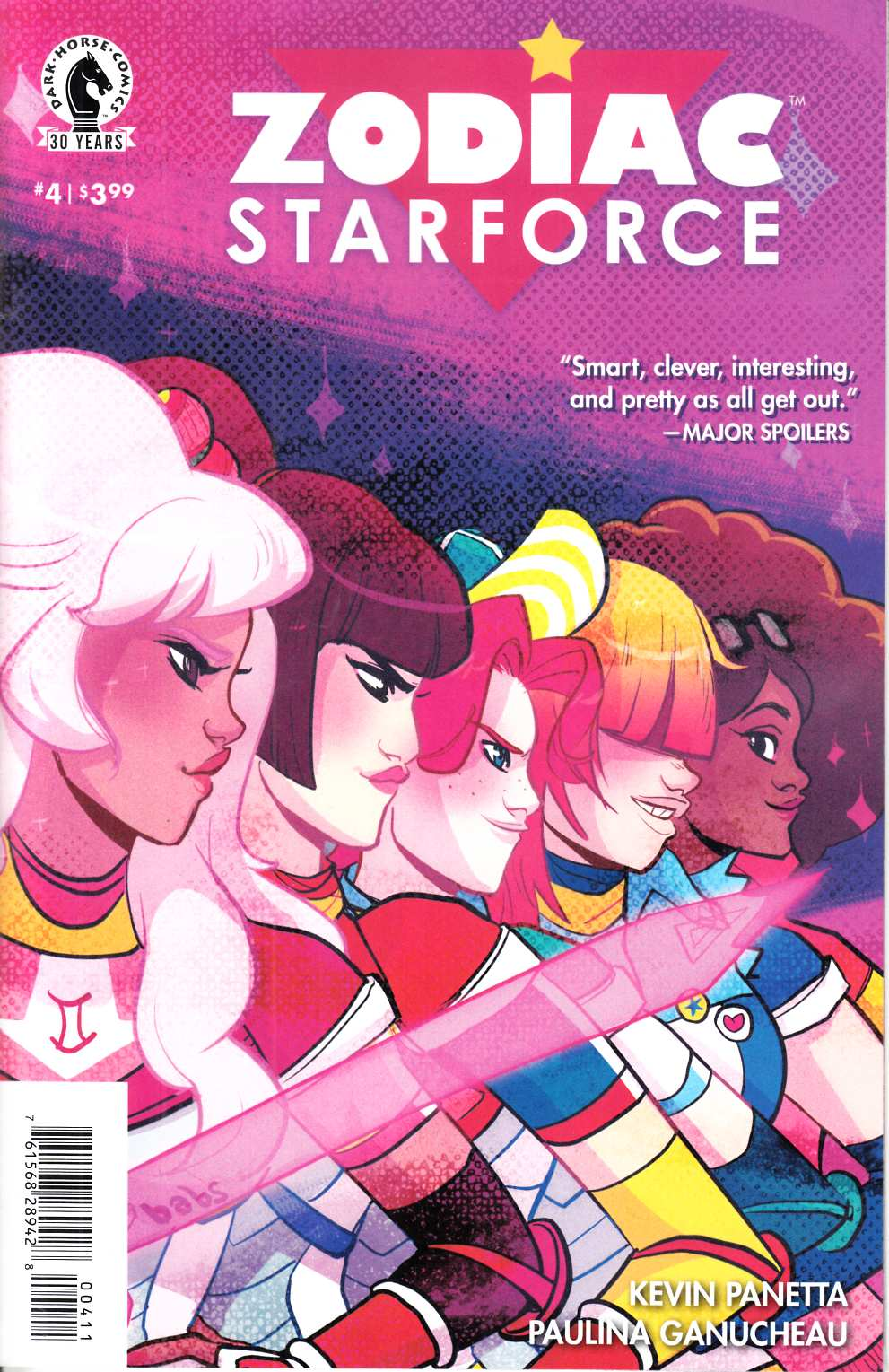 Zodiac Starforce #4 [Dark Horse Comic] THUMBNAIL