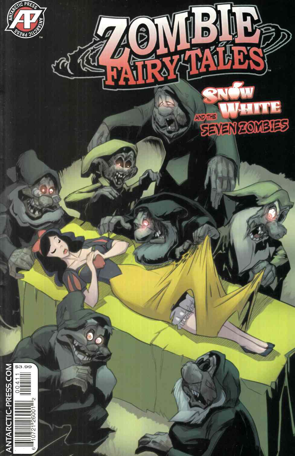 Zombie Fairy Tales Snow White (One Shot) [Antarctic Comic] THUMBNAIL