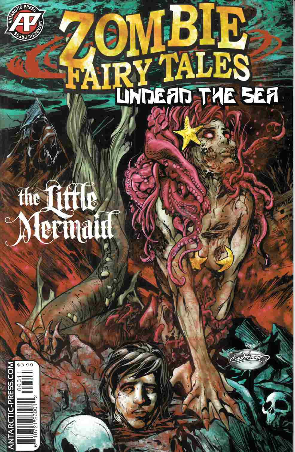 Zombie Fairy Tales Undead the Sea (One Shot) [Antarctic Press Comic] THUMBNAIL