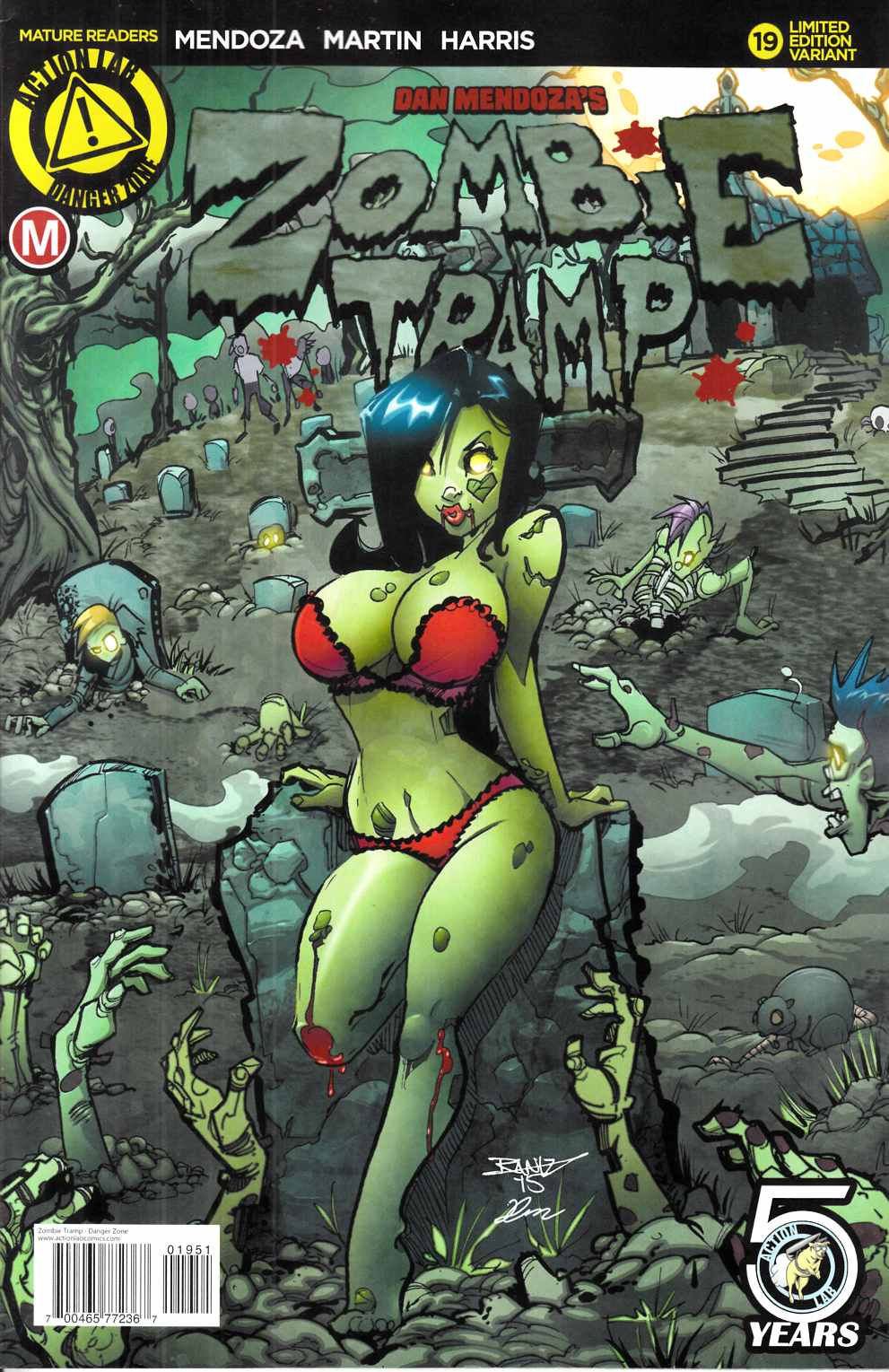 Zombie Tramp Ongoing #19 Kintz Variant Cover [Danger Zone Comic]