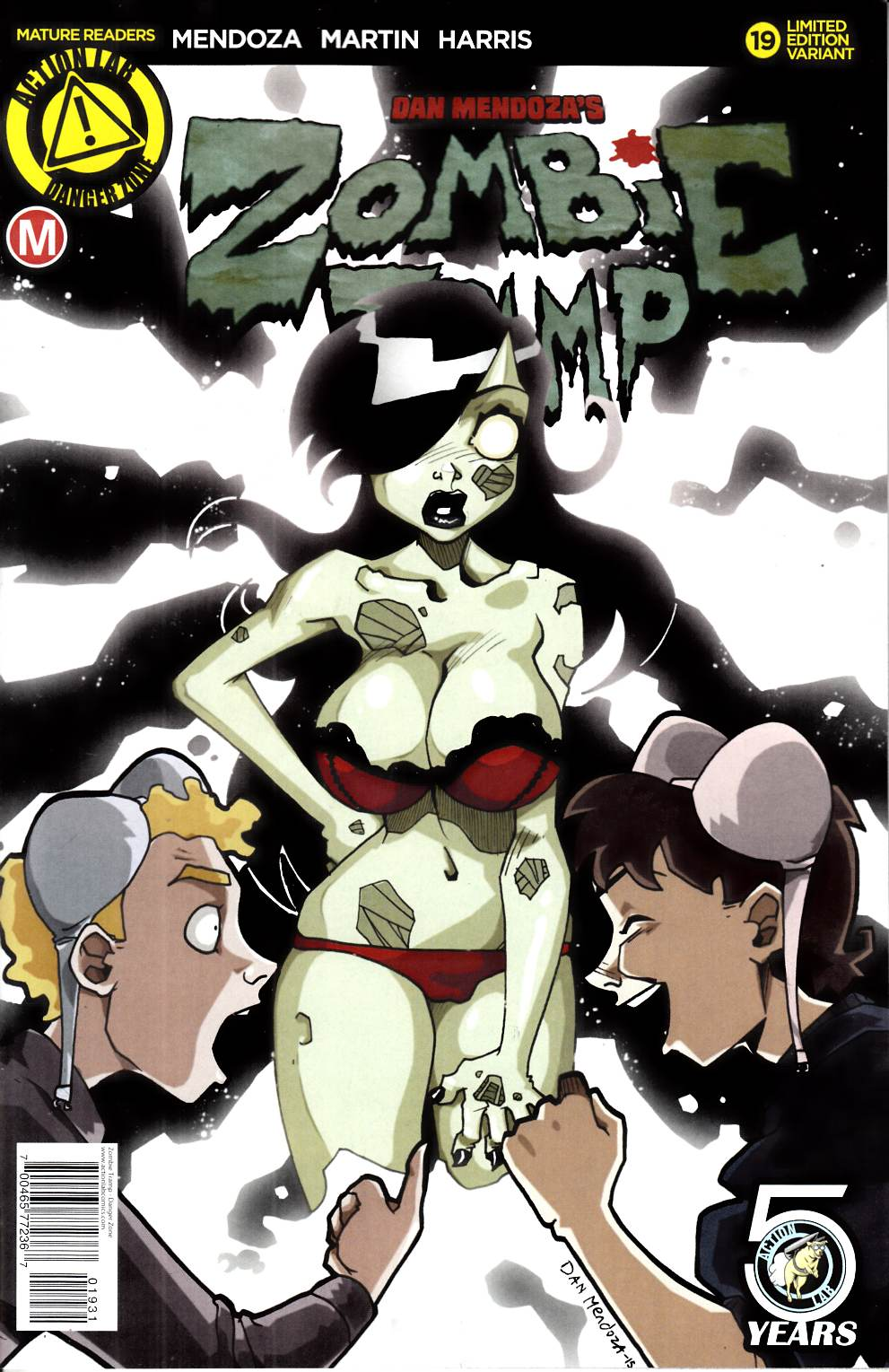 Zombie Tramp Ongoing #19 Mendoza Variant Cover [Danger Zone Comic]