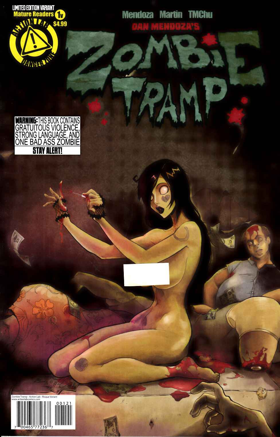 Zombie Tramp Ongoing #1 Risque Variant Cover [Comic] THUMBNAIL