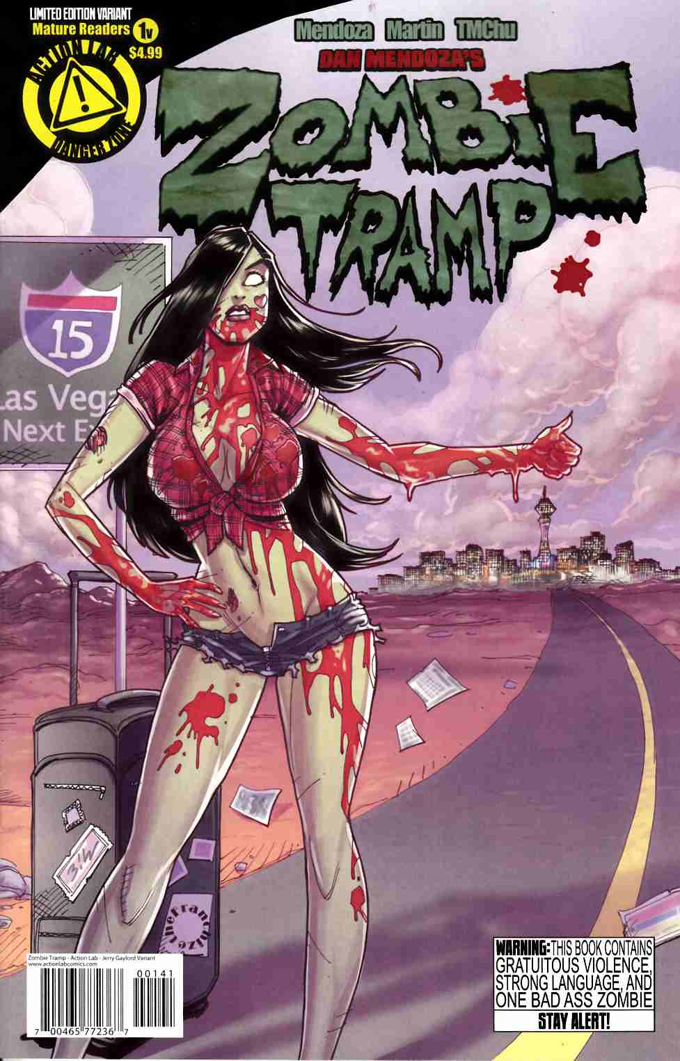 Zombie Tramp Ongoing #1 Jerry Gaylord Variant Cover [Comic] THUMBNAIL