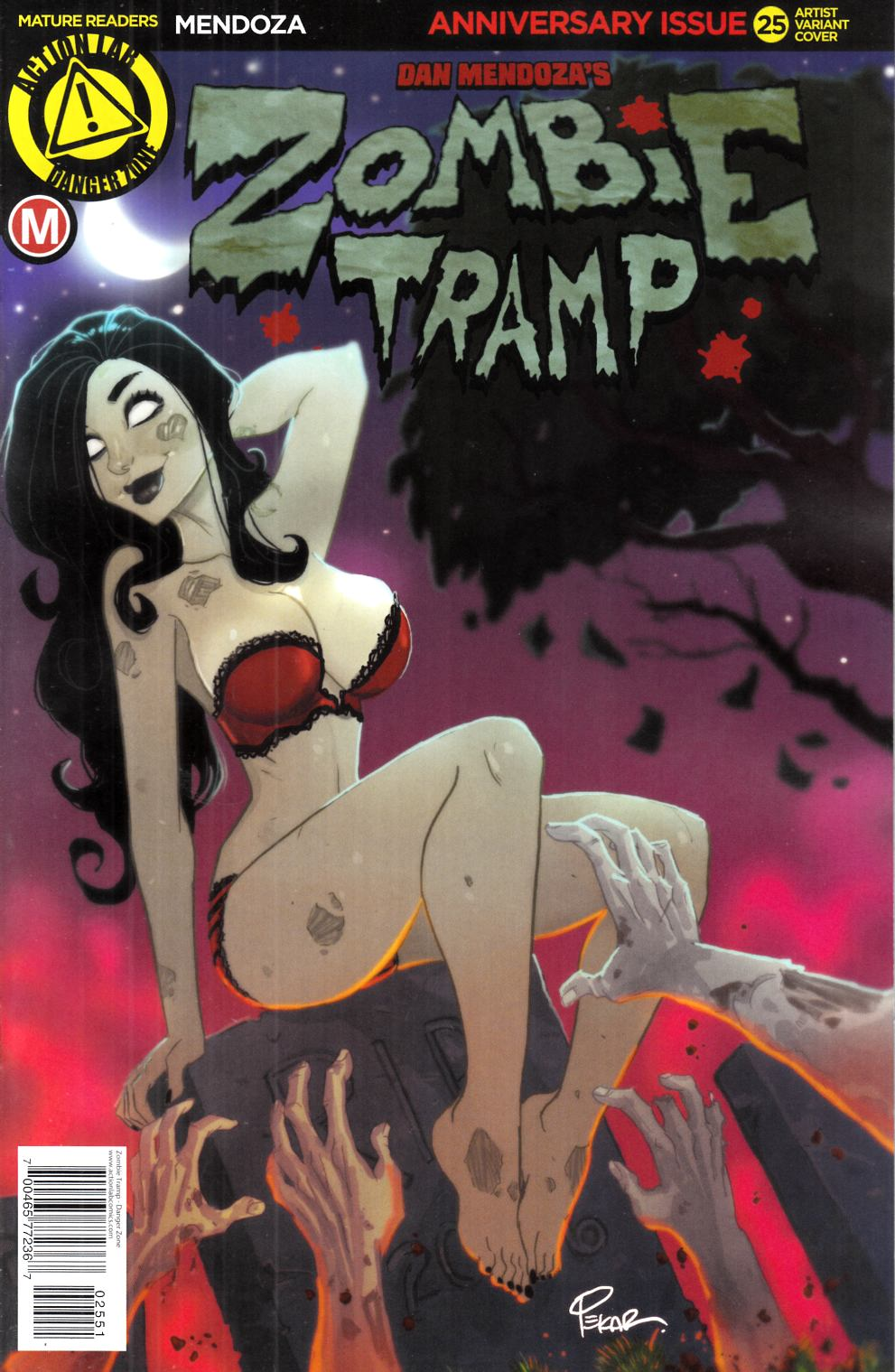 Zombie Tramp Ongoing #25 Cover E- Pekar [Danger Zone Comic] LARGE