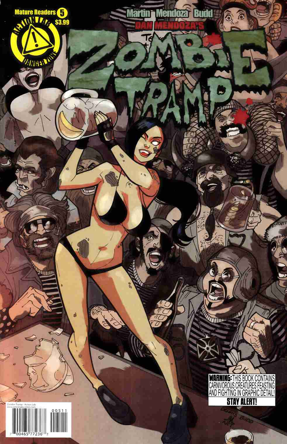 Zombie Tramp Ongoing #5 [Danger Zone Comic] THUMBNAIL