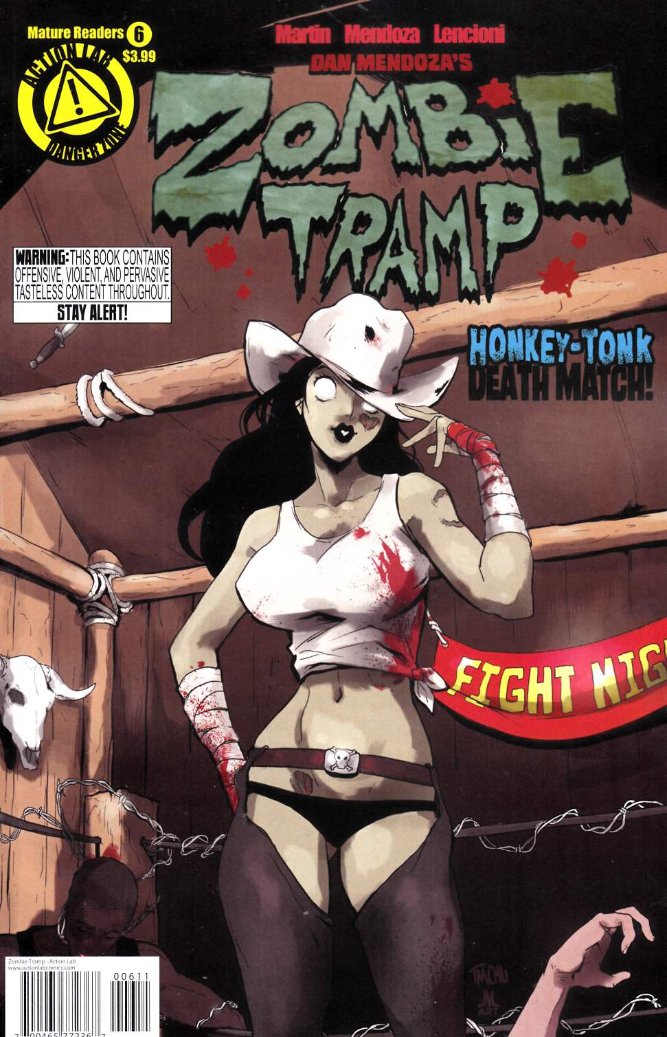 Zombie Tramp Ongoing #6 [Action Lab Comic] THUMBNAIL