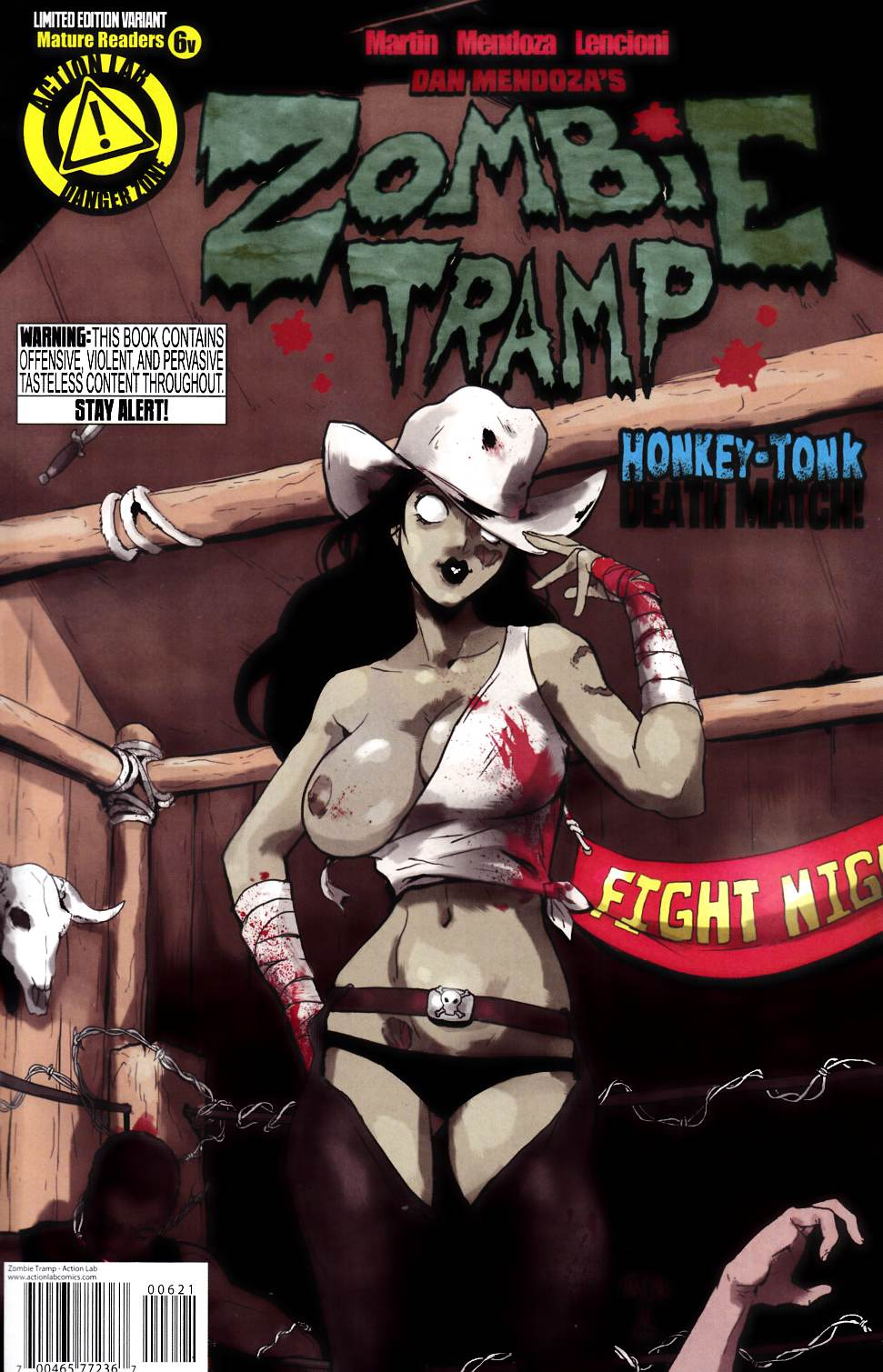 Zombie Tramp Ongoing #6 Risque Variant Cover [Action Lab Comic]