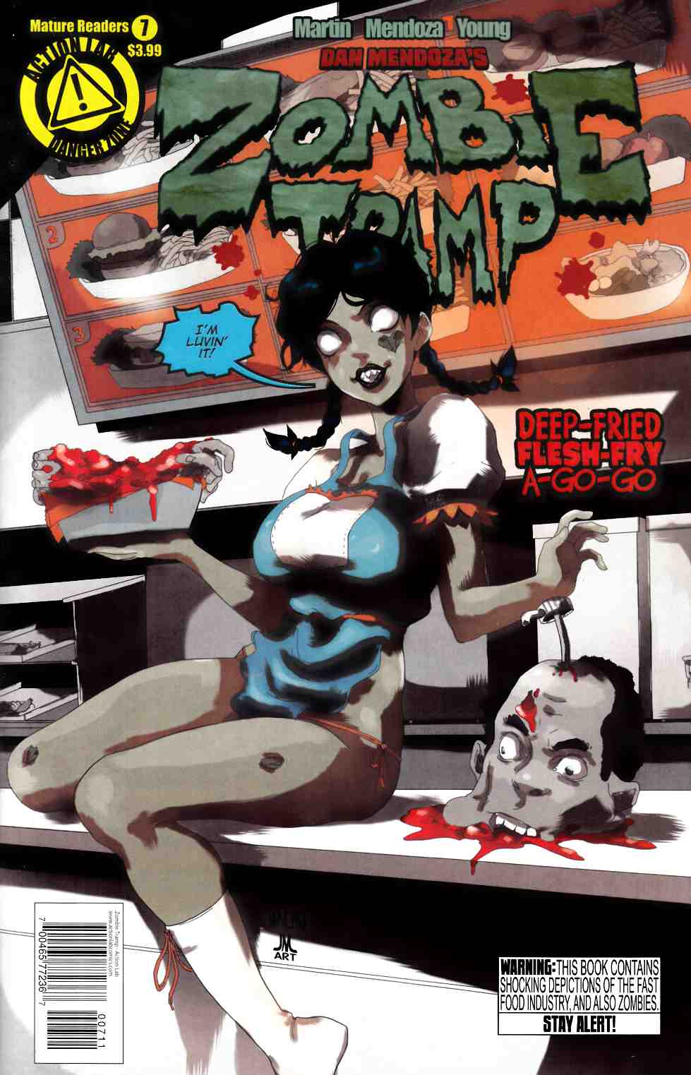 Zombie Tramp Ongoing #7 [Danger Zone Comic]