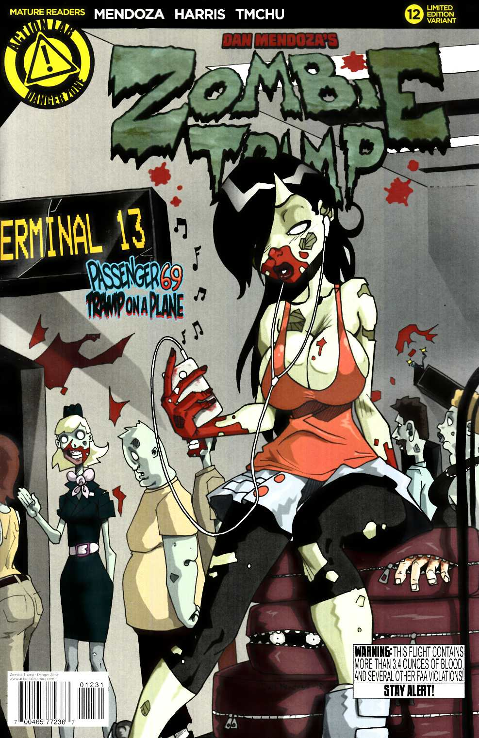 Zombie Tramp Ongoing #12 Mendoza Variant Cover [Danger Zone Comic] LARGE