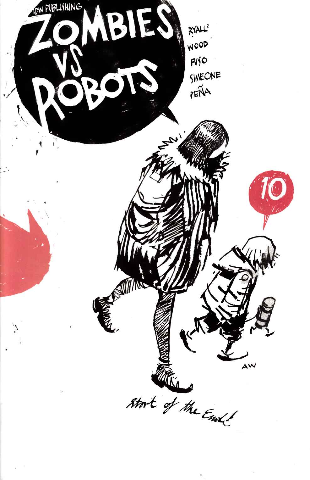 Zombies Vs Robots #10 [IDW Comic] THUMBNAIL