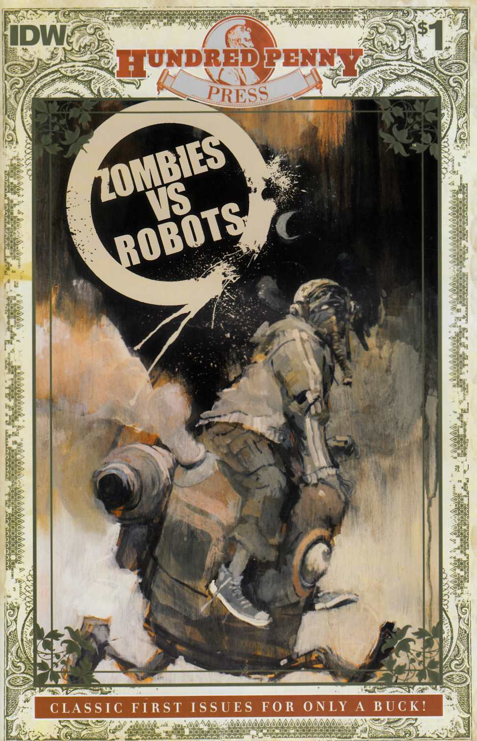 Zombies vs Robots #1 Hundred Penny Press Edition [IDW Comic]_THUMBNAIL