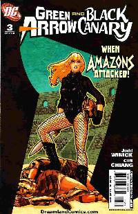 Green arrowblack canary #3_LARGE