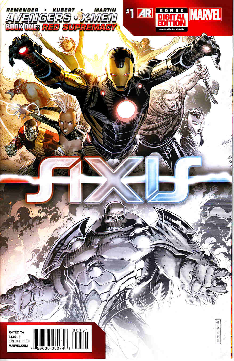 Avengers and X-Men Axis #1 Premiere Variant [Marvel Comic] THUMBNAIL