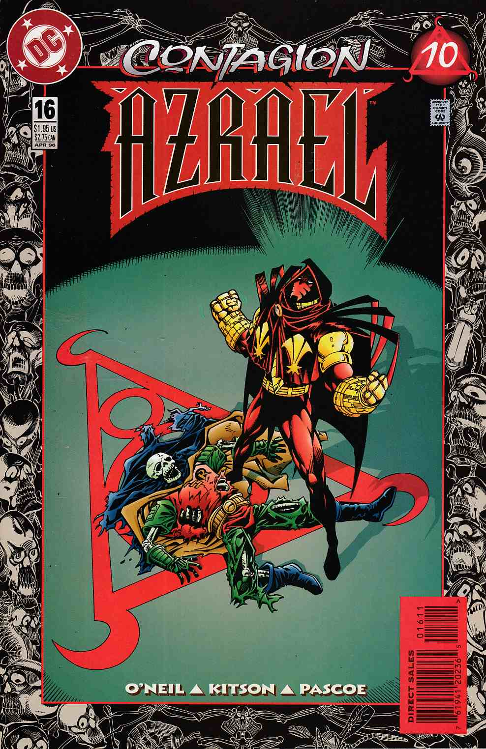 Azrael Agent of the Bat #16 Near Mint (9.4) [DC Comic] THUMBNAIL