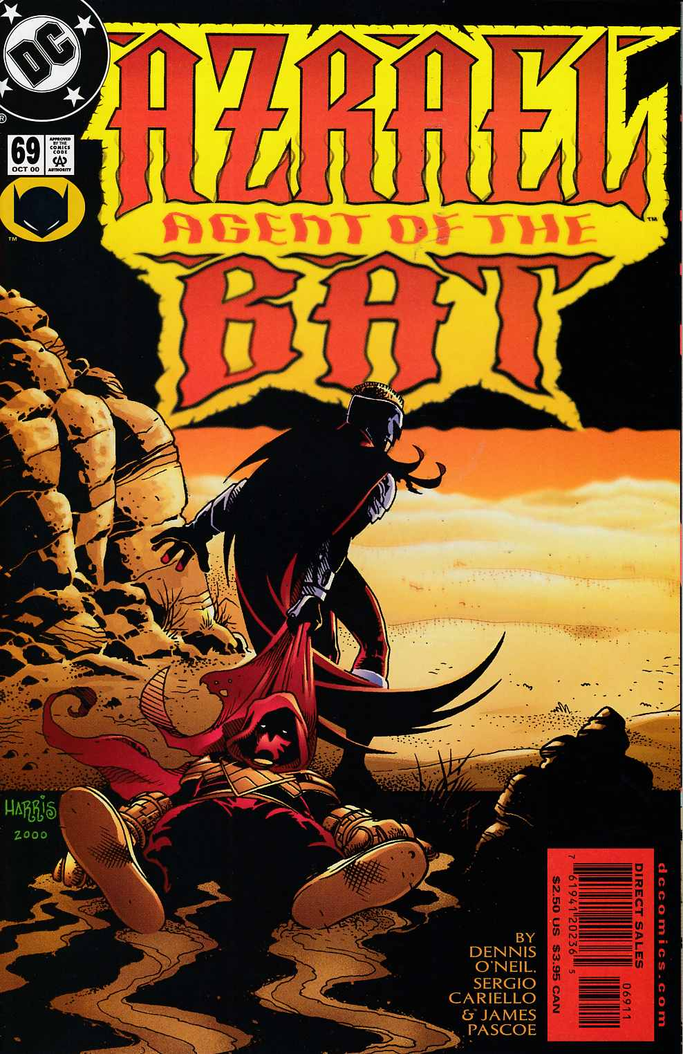 Azrael Agent of the Bat #69 Near MInt (9.4) [DC Comic] LARGE