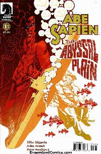 Abe sapien: abyssal plain #1 (johnson cover) LARGE